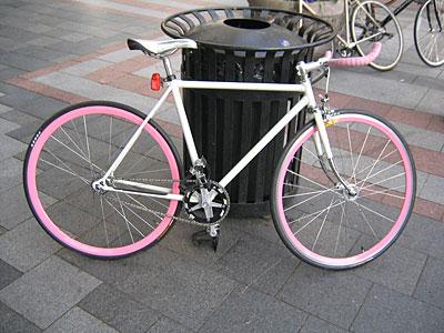 Super pink fixie