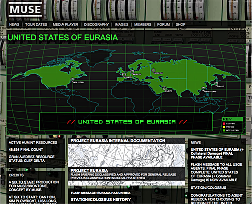 Ununited Eurasia screenshot