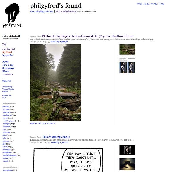 Screenshot of the webpage