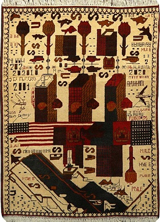Another afghan war rug