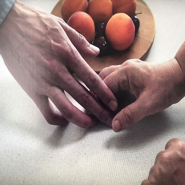 Photo of hands by Dominic Kelly